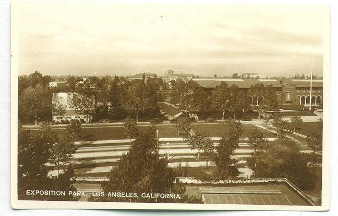 CMSI Postcard - Exposition Park