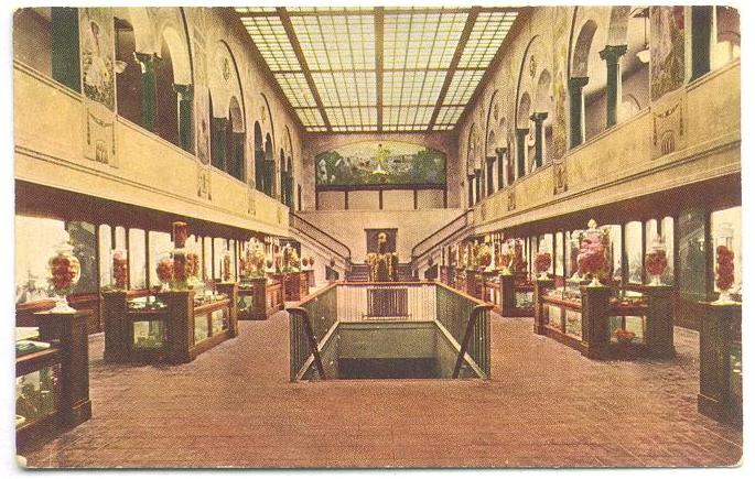 CMSI Postcard - Agricultural Hall - Exposition Building