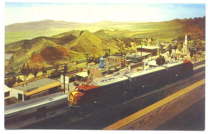 CMSI Postcard - Model Railroad