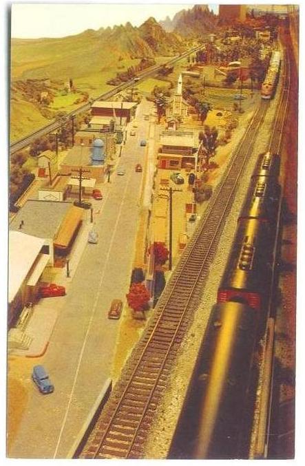 CMSI Postcard - Model Railroad